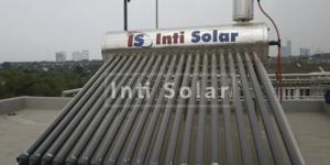 Desain Kamar Mandi Outdoor dengan Pemanas Air Tenaga Solar