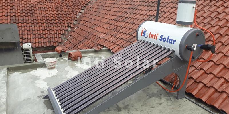 Mandi Air Hangat dari Solar Water Heater Bermanfaat Seperti Olahraga